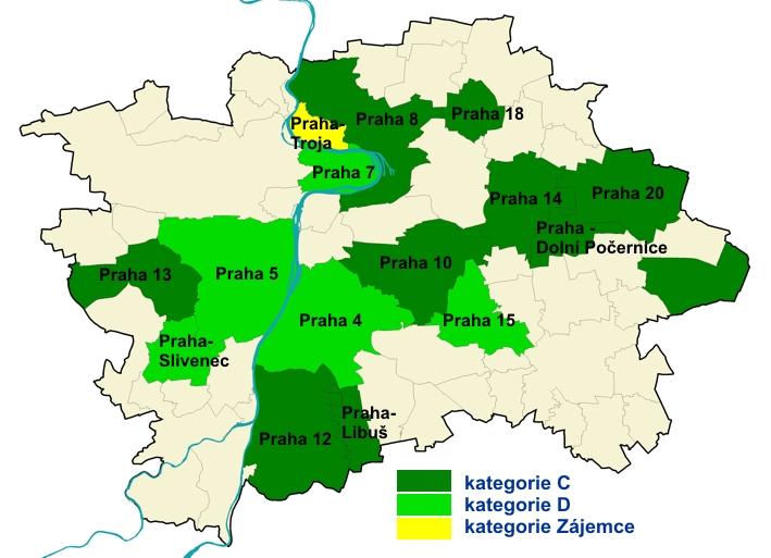 Mapy K Mistni Agende 21 V Hl M Praze Portal Zivotniho Prostredi