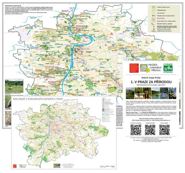 Mapove Infomacni Materialy K Prazske Prirode A Ochrane Zivotniho