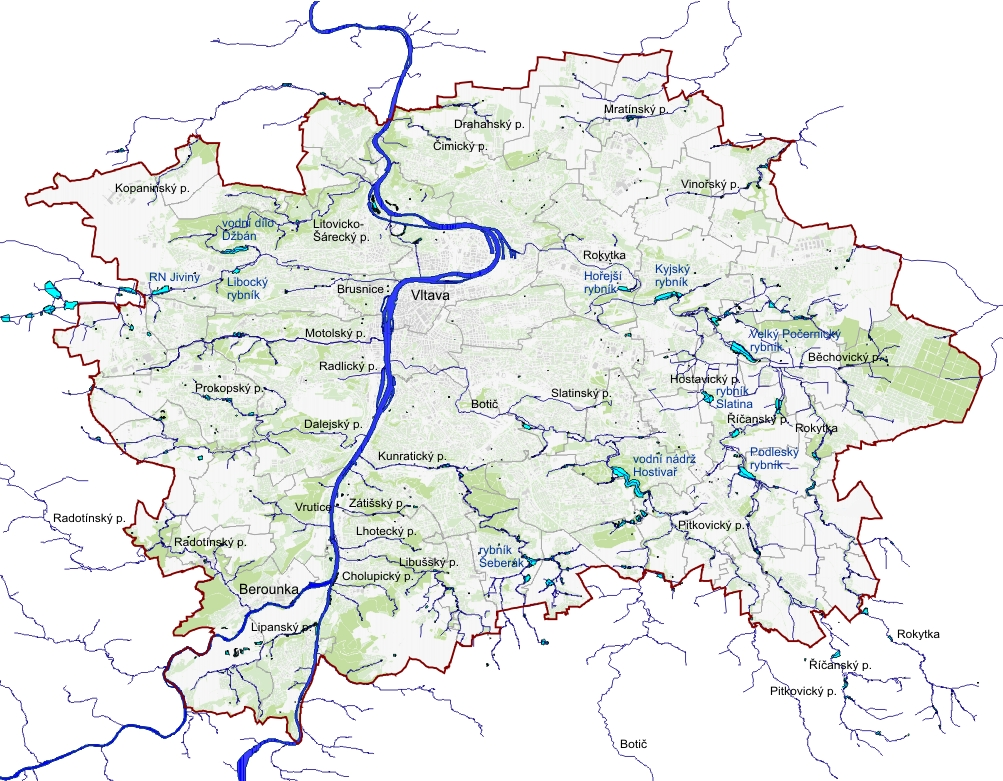 Mapy Vodni Hospodarstvi Portal Zivotniho Prostredi Hlavniho